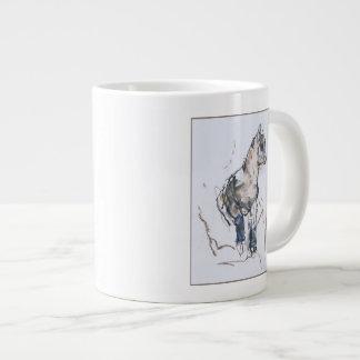 Niño del cabra montés taza grande
