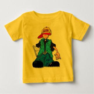 Niño del camionero playera de bebé