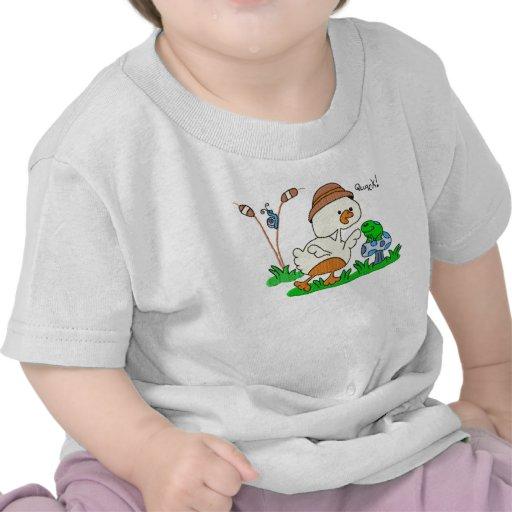 Niño del curandero del pato y camisa del niño