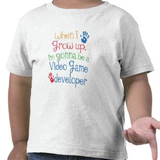 Niño del desarrollador del videojuego (futuro) camiseta