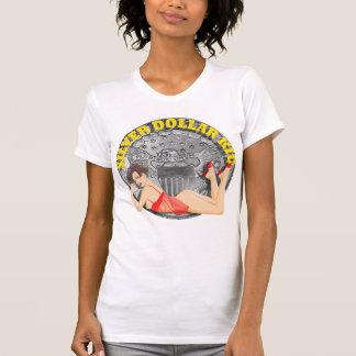 Niño del dólar de plata camiseta