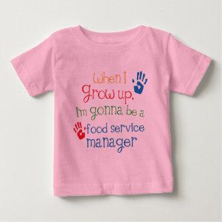 Niño del encargado de alimentación (futuro) t-shirts