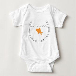 Niño del escape del Goldfish Body Para Bebé