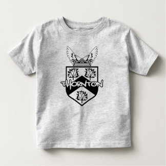 Niño del escudo de la familia de Thornton Playeras