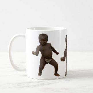 Niño del éxito del Tercer mundo Taza De Café