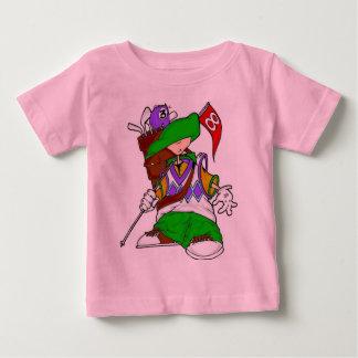 Niño del golfista playera de bebé