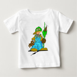 Niño del granjero playera de bebé