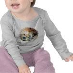 Niño del hábitat del lince camisetas