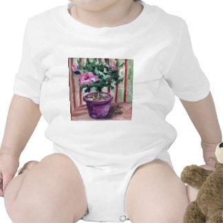 Niño del hibisco camiseta