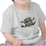 Niño del hockey camiseta