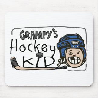 Niño del hockey de Grampy Tapete De Raton