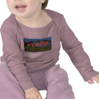 Niño del lirio de los valles camiseta