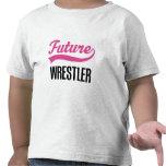 Niño del luchador (futuro) camiseta
