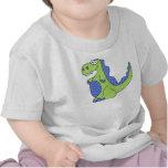 Niño del muchacho de T-Rex y camisa del niño