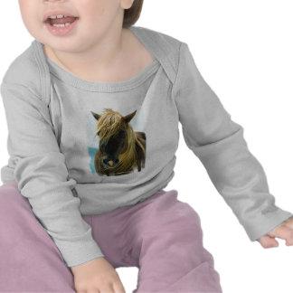 Niño del mustango camisetas