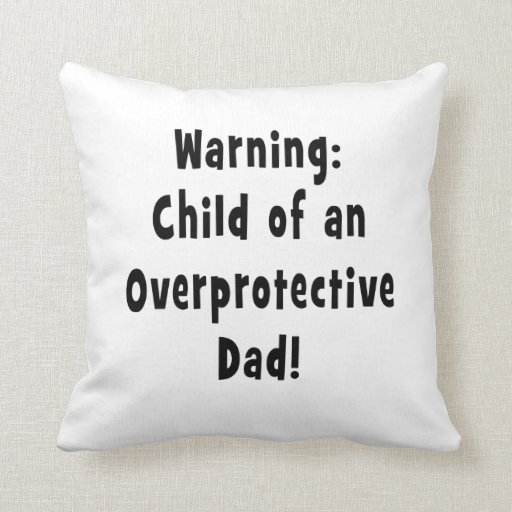 niño del negro sobreprotector del papá almohadas