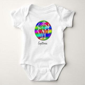 Niño del niño del zodiaco de Archer del arco iris Body Para Bebé