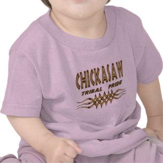 Niño del orgullo de Chicasaw/camiseta tribales del