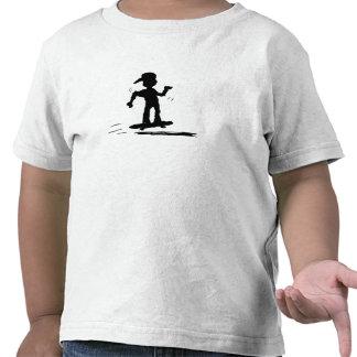 Niño del patinador - nd camisetas