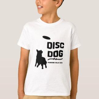 Niño del perro del disco del Corgi Galés del Remeras