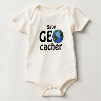 Niño del personalizado de Geocaching de la tierra Traje De Bebé