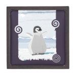 Niño del pingüino