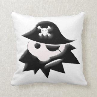 Niño del pirata cojín decorativo