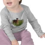 Niño del potro del caballo camiseta