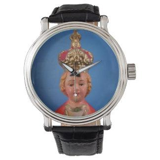 Niño del reloj de Praga