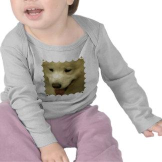 Niño del rescate del samoyedo camiseta