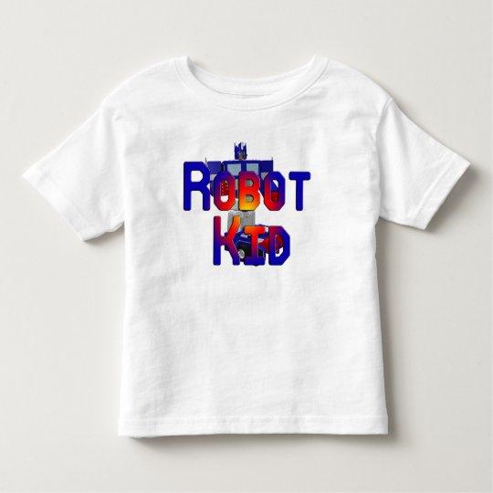 Niño del robot playera de bebé