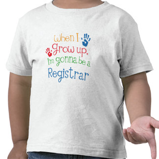 Niño del secretario (futuro) camiseta