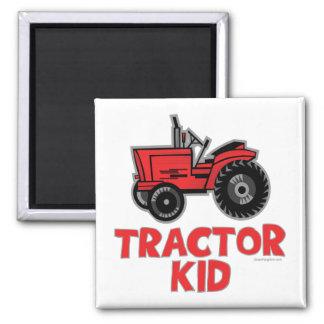 Niño del tractor iman para frigorífico