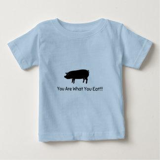 Niño del vegano playera de bebé