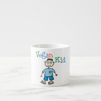 Niño del vegano taza espresso