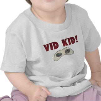 Niño del videojuego camiseta