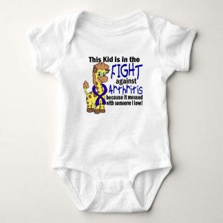 Niño en la lucha contra artritis body para bebé
