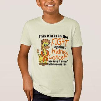 Niño en la lucha contra cáncer del riñón camisas