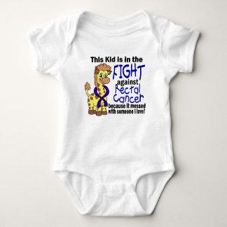 Niño en la lucha contra cáncer rectal remeras