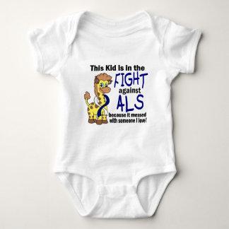 Niño en la lucha contra el ALS Remera