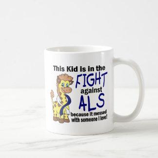 Niño en la lucha contra el ALS Taza De Café