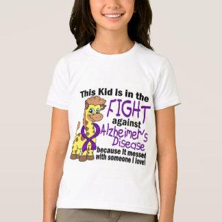 Niño en la lucha contra enfermedad de Alzheimer Playera