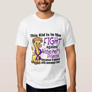 Niño en la lucha contra enfermedad de Alzheimer Polera