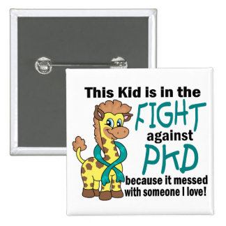 Niño en la lucha contra PKD Pin