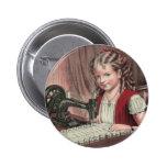Niño en la máquina de coser - 1872 (1) pins