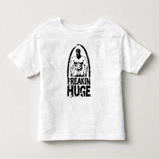 Niño enorme del logotipo del individuo de Freakin Camiseta