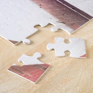 Niño enrrollado del patín del skater puzzle con fotos