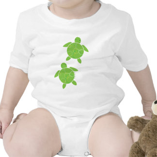 Niño feliz de Honu Camisetas