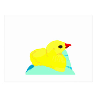 Niño grapic del polluelo de los niños azules amari postales