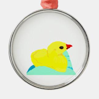 Niño grapic del polluelo de los niños azules adorno